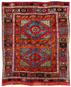 ORIENTAL CARPETS | Turkish Rugs: Christopher Alexander's Two Panel Holbein Rug