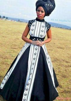 Xhosa Attire, African Attire, African Wear, African Women, African Style, African Colors, African Print Dresses, African Print Fashion, Africa Fashion