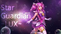 Star Guardian Lux LOL Lux skin