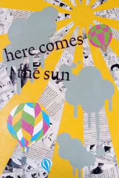 Here Comes The Sun I by Laselle on Etsy, $20.00