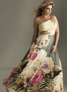 VESTIDOS DE FIESTA via www.mujeresmoda.blogspot.com tallas grandes. i love this dress