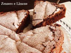 La torta cioccolato e pere è un dolce morbidissimo e umido all'interno rivestito da una golosa crosticina croccante che si sbriciola. Una vera leccornia!