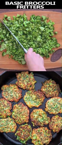 These light, golden-brown Broccoli Fritters make a delicious vegetarian dinner o. These light, golden-brown Broccoli Fritters make a delicious vegetarianBasic broccoli fritters These light, golden-brown Broccoli Fritters make a delicious vegetarian d Clean Eating Vegetarian, Vegetarian Dinners, Healthy Eating, Vegetarian Food, Dinner Healthy, Vegan Meals, Kids Healthy Lunches, Vegetarian Recipes For Kids, Kids Dinner Ideas Healthy
