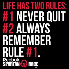 Never forget rule #1! #SpartanRace #WhyIRaceFor more motivation tune in: http://sprtn.im/SpartanUP-Podcast!