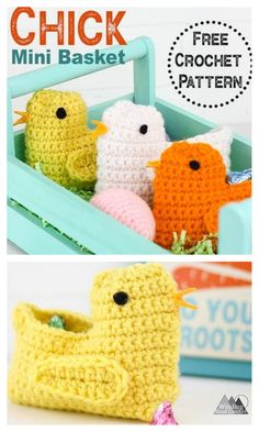 Crochet Easter, Crochet Fish, Easter Crochet Patterns, Crochet Animals, Free Crochet, Knit Crochet, Crochet Hats, Ostern Party, Easter Gift Bags