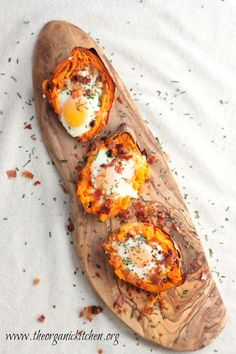 Twice Baked Sweet Potatoes | The Organic Kitchen Blog And Tutorials
