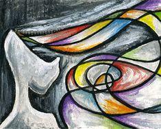 Anxiety Art Mental Health Print 8x10 Wall Art by rainbowofcrazy, $17.50