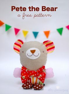 More Fun with Pete the Bear (a Free Pattern)