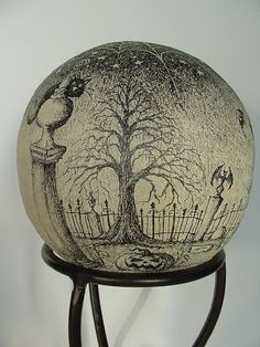 Laurie Hardin: Ode to Edward Gorey Orb Update
