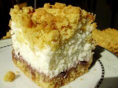 Ciasto z jogurtów greckich Polish Desserts, Polish Recipes, Cookie Desserts, Sweet Recipes, Cake Recipes, Dessert Recipes, Sweets Cake, Cupcake Cakes, Yummy Food