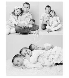 Columbus newborn photographer, sibling and newborn photos