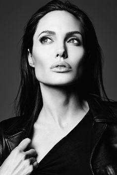 "Angelina Jolie in ""Untamed Heart"" for Elle US, June 2014 Photographed by: Heidi Slimane"