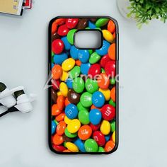 M&MS Candies Fall Samsung Galaxy S7 Edge Case | armeyla.com