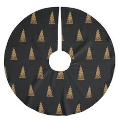 Christmas trees brushed polyester tree skirt - Xmas ChristmasEve Christmas Eve Christmas merry xmas family kids gifts holidays Santa