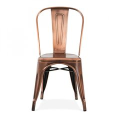 Xavier Pauchard Vintage Kupfer Stuhl