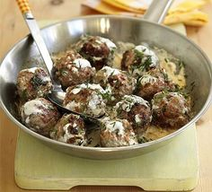 Swedish Meatballs - After devouring three plates you realize what you have done to yourself.  Its that kind of food.