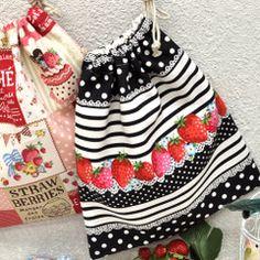 巾着袋の作り方 裏地付き・マチなし・ひも片側 | NUNOTOIRO Gift Bags, Boho Shorts, Gifts, Women, Fashion, Sacks, Totes, Moda, Presents