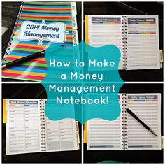How to Make a Money Management Notebook