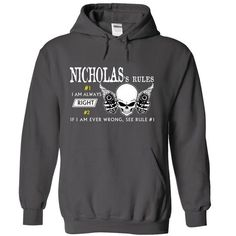 NICHOLAS RULE\S Team .Cheap Hoodie 39$ sales off 50% on - #man gift #thoughtful gift. TAKE IT => https://www.sunfrog.com/Valentines/NICHOLAS-RULES-Team-Cheap-Hoodie-39-sales-off-50-only-19-within-7-days.html?68278