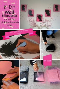 K-DIY Kpop Wall Silhouettes only at the pinkfashionninja.com! http://www.pinkfashionninja.com/2016/03/k-diy-wall-silhouettes-home-decor.html