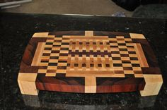 Deluxe End-Grain Cutting Board Set. $400.00, via Etsy.