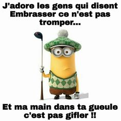 Les minions Plus - Witze Lol, Minion Humour, Funny Minion, Minion Talk, Image Fun, French Quotes, Minions Quotes, Kids Playing, Funny Jokes