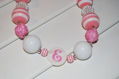 Personalized Chunky Necklace for girls