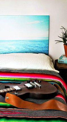 DIY Photo Headboards - Two Ways