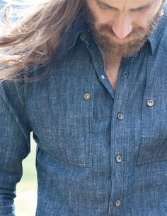 <> Wayward Button Down | Sitka x Chris Haslam