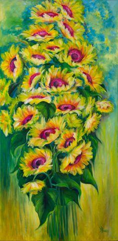 Carolina Sunflowers by Debra Bucci Fine Art