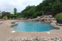 In ground pool in central PA, Goodall Pools & Spas