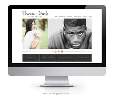 My site's home page created by Samantha Culp from Point of Vue Photography & Design (www.pointofvuephotography.com).