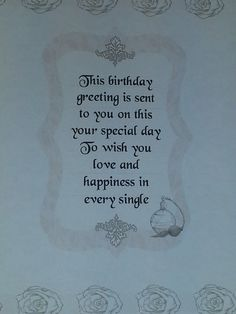 Birthday card verses by moonstone treasures write it pinterest this is the insert i made for birthday card i made this using my docrafts digital designer wrote the verse myself bookmarktalkfo Images
