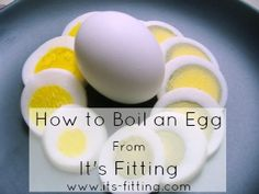 {How to Hard Boil Eggs without Grayed Yolks!} 1. Place eggs in pot and cover with an inch of cold water (and add 1 tsp baking soda for easy peeling). 2. Bring to rolling boil over medium heat. 3. Immediately shut off heat and cover! 4. Set timer for 10 minutes. 5. Then remove eggs and place in cold water. 6. Let sit 5-10 minutes, then peel.