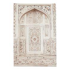 Lienzo beis y blanco 80 x 118cm MEKNES | Maisons du Monde