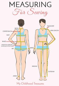Sewing Measurements – Body Measurements for Sewing