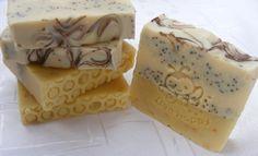 Körömvirágos-mézes-mákos szappan