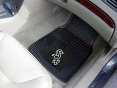 Chicago White Sox 2-pc Vinyl Car Mat Set