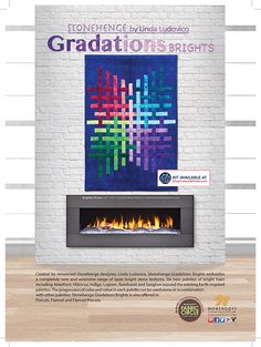 Stonehenge Gradations Brights featured in Love of Quilting May/June 2016 issue.