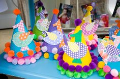 #bird theme - #bird birthday hats - #DIY