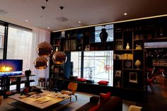 The new CitizenM Tower hotel in London #London #CitizenM #designhotel #boutiquehotel