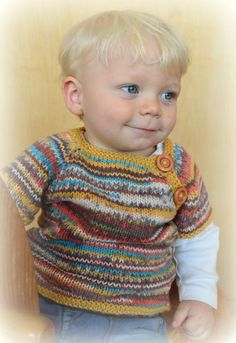 Hand knitted sweater top 0-5 years ' made to by TwoGreyRabbits