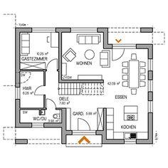 RKR Musterhaus | STADTVILLA ART 4 160 | Erdgeschoss
