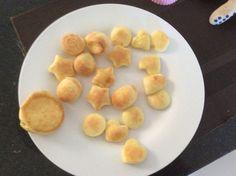 Cookies ya hechas, quedan souffle y se bajan rapido