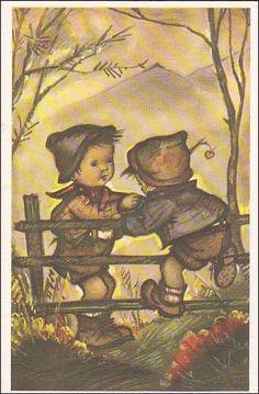 Mainzer postcard Alfred Mainzer 677 Little от sharonfostervintage