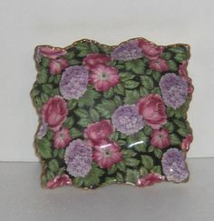James Kent/Old Foley Tapestry Chintz Pin Dish Pattern 5615 Made in England  Free Standard Shipping in the U.S.