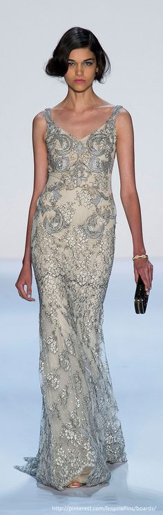 New York Spring 2014 - Badgley Mischka For anyone interested in working from home and making good money... I work from home and love it, so I thought I would introduce my fellow fashionista friends to it!  This business does not require you to maintain an inventory, ship or mail anything, OR use the telephone to call prospects!!!  If you want information on it, go to www.workwithbrandy.com