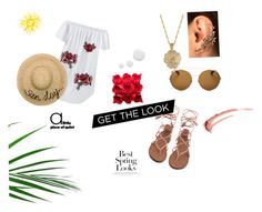 """""""A spring in her step"""" by insertquirkyname on Polyvore featuring 2028, Givenchy, Eugenia Kim, Topshop and H&M"""