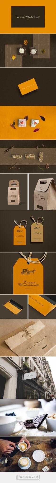 Zucker Milchbrot Bakery Branding by Choi Hwanie | Fivestar Branding Agency – Design and Branding Agency & Curated Inspiration Gallery