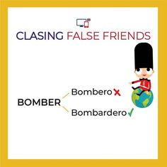 No te confundas!   ...  #falsefriends #bilingüe #skypeenglish #englishwords #inglesdivertido False Friends, Fictional Characters, English Class, Learning English, Professor, Hilarious, Fake Friends, Fantasy Characters
